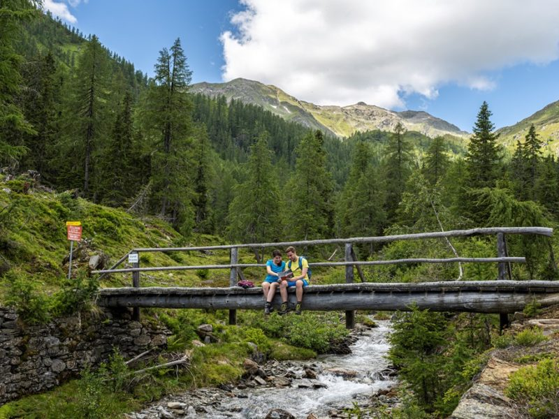 Themenwanderweg Großfragant - Gundibrücke ©Franz Gerdl