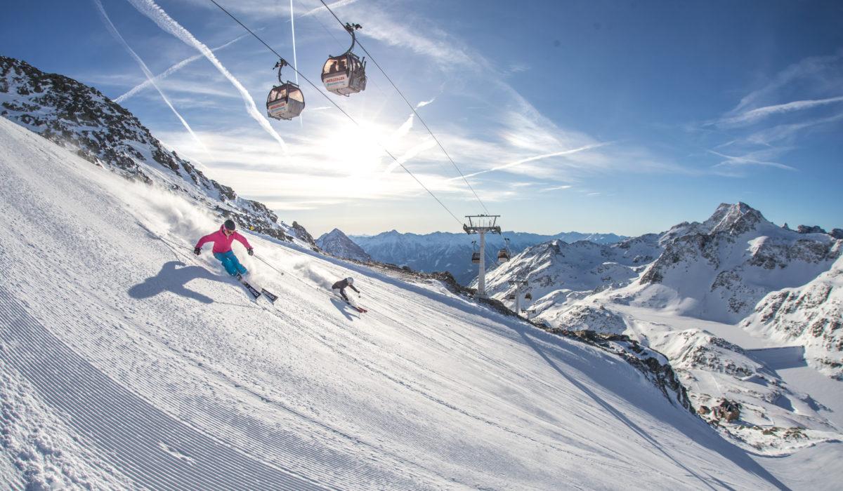 Mölltaler Gletscher Gondel 2018-2019