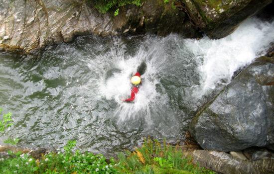 Wildwasserrafting